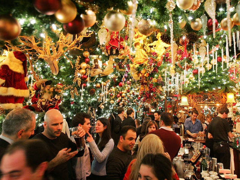 these nyc bars will put you in a holiday mood