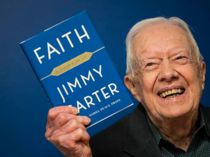 Georgias Jimmy Carter Now Oldest Living Ex-President In History