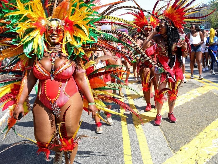 Annual West Indian Day Held In Brooklyn, 2018.