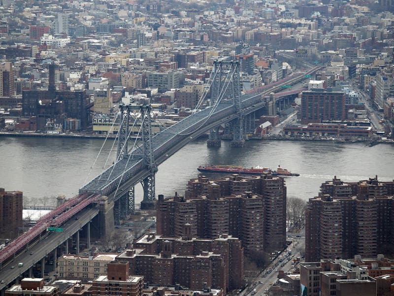 Man Found Dead In River Near Williamsburg Bridge, Police Say