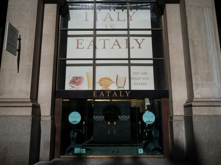 Eataly Closed By Health Inspectors For Not Having A Bathroom