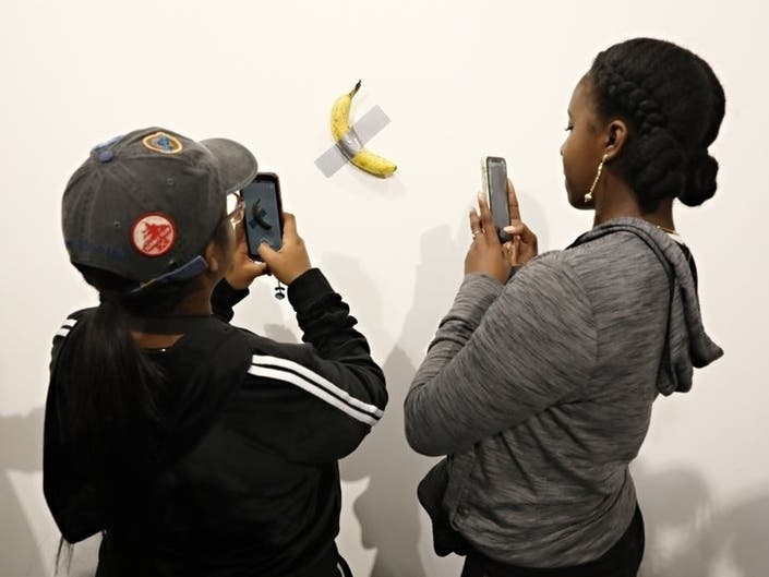 $120K Banana Eater Is Brooklyn Artist With Queens Gallery