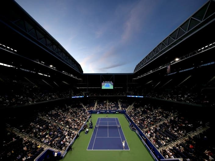 A general view of Louis Armstrong stadium at the USTA Billie Jean King National Tennis Center on day one of the 2019 US Open on Aug. 26, 2019.