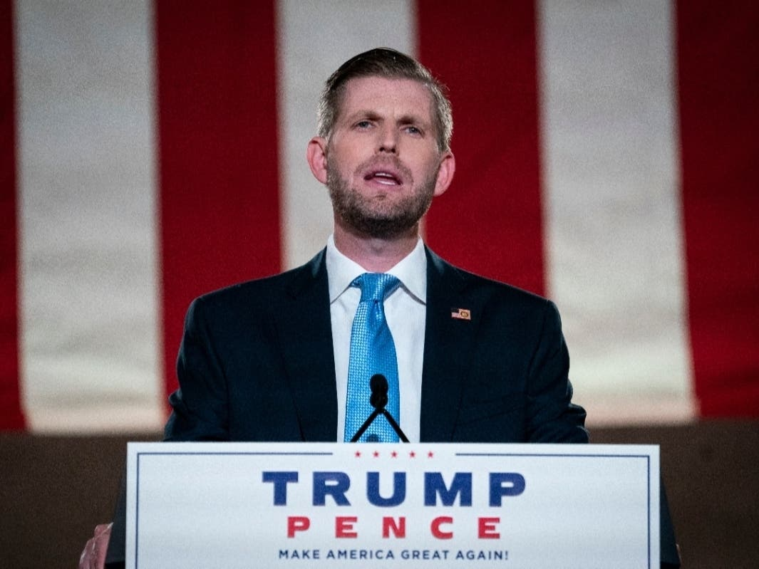 Eric Trump Campaigns In Cumming, Atlanta Tuesday: Livestream