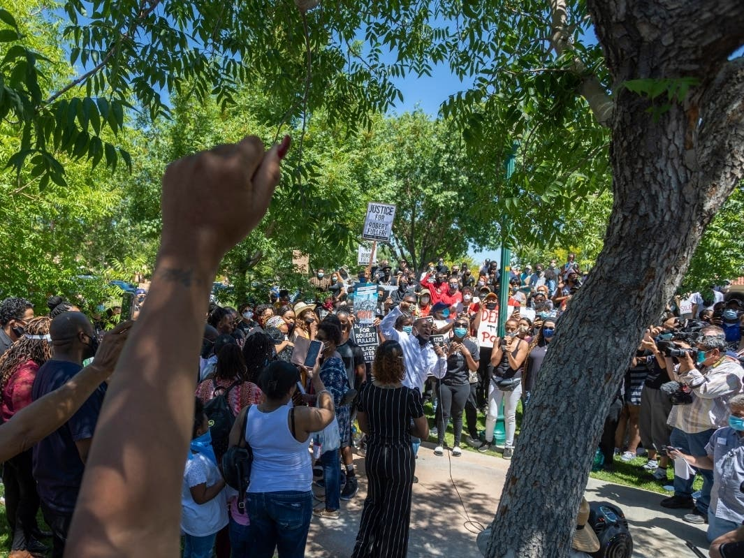 Outcry After Black Man Found Hanging From Palmdale Tree Los Angeles Ca Patch