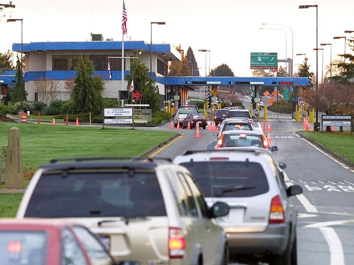 British Family Detained After Crossing Border Near Blaine