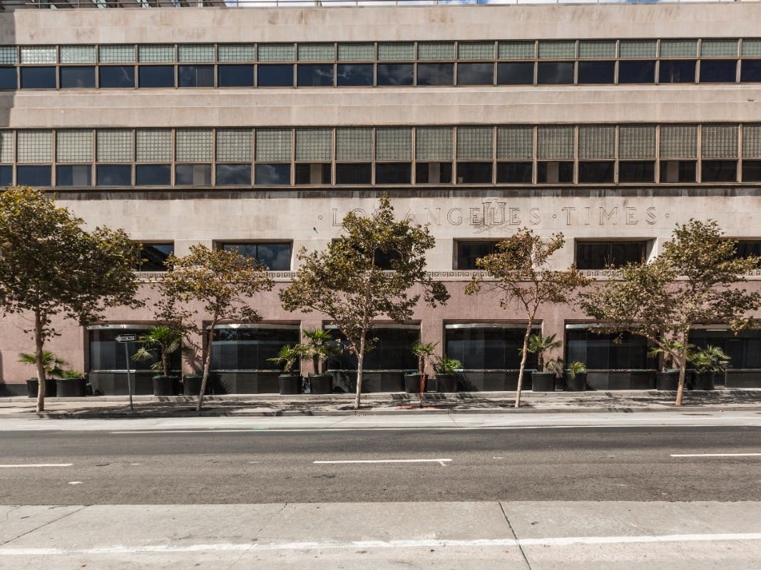 LA Council Panel Backs Times Mirror Square High-Rise Project