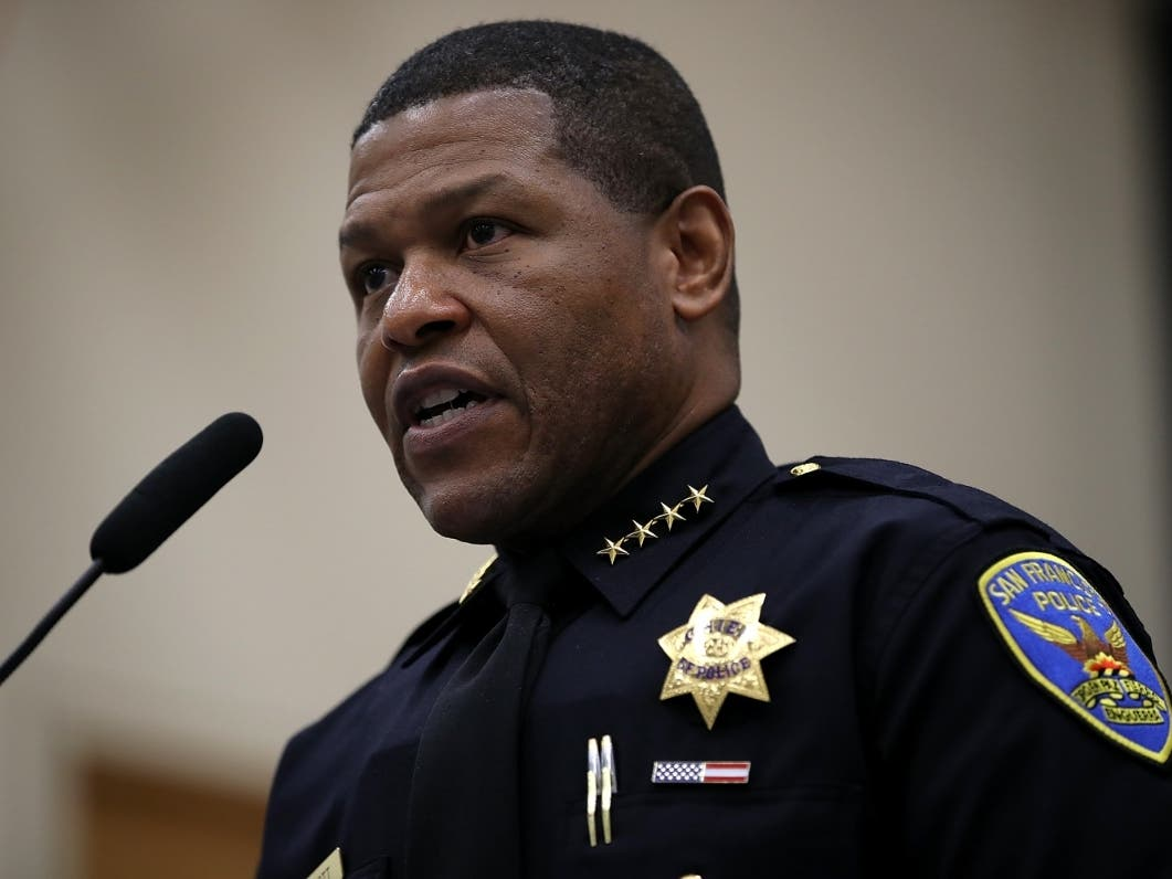 San Francisco Police Chief Responds To Mayor's Budget Cuts