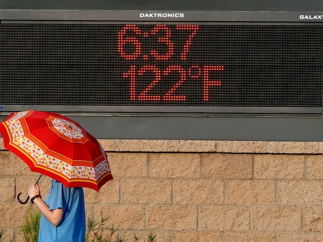 Phoenix Records 1st 100 Degree Day Of 2021
