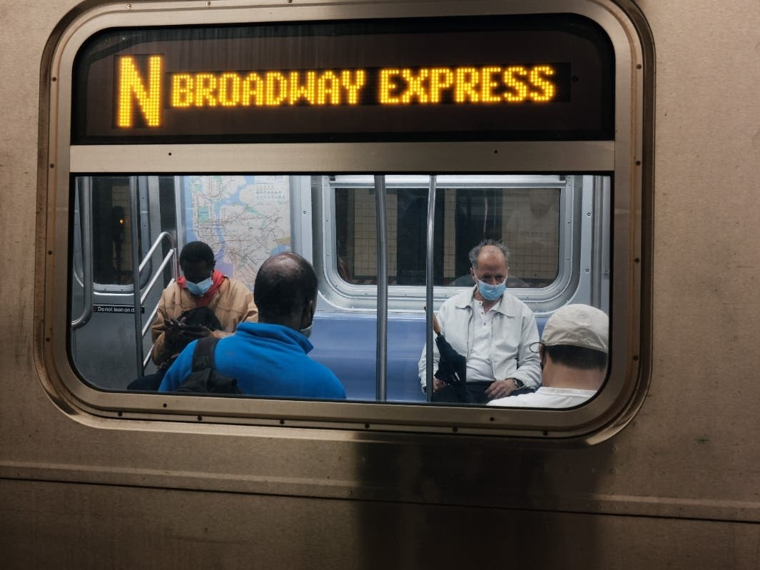 MTA Drops Mask Requirements For Outdoor Platforms and Bus Stops
