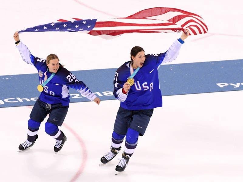 kendall coyne wins gold as u s women s hockey team beats canada