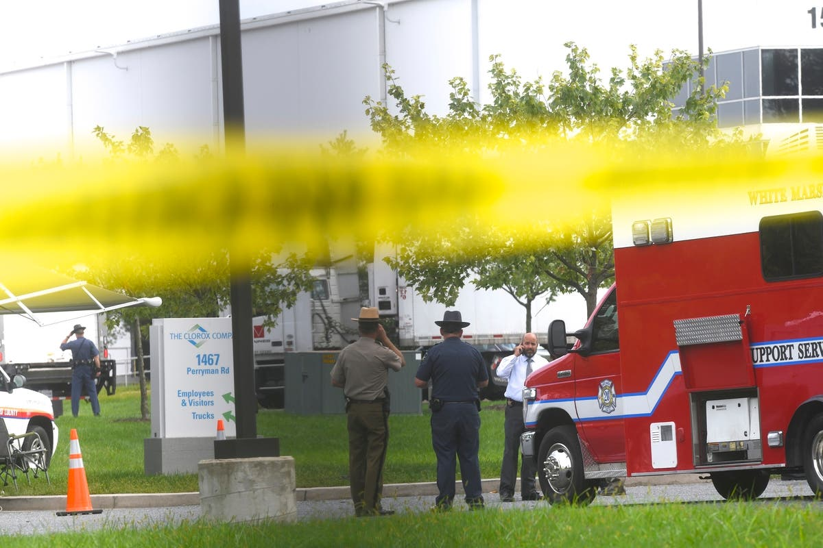 Perryman Shooting In Photos: Police Search, Bystanders Wait