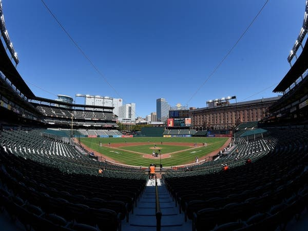 The Baltimore Orioles will allow fans at 25 percent capacity in the ballpark. April 8 is the team's home opener.