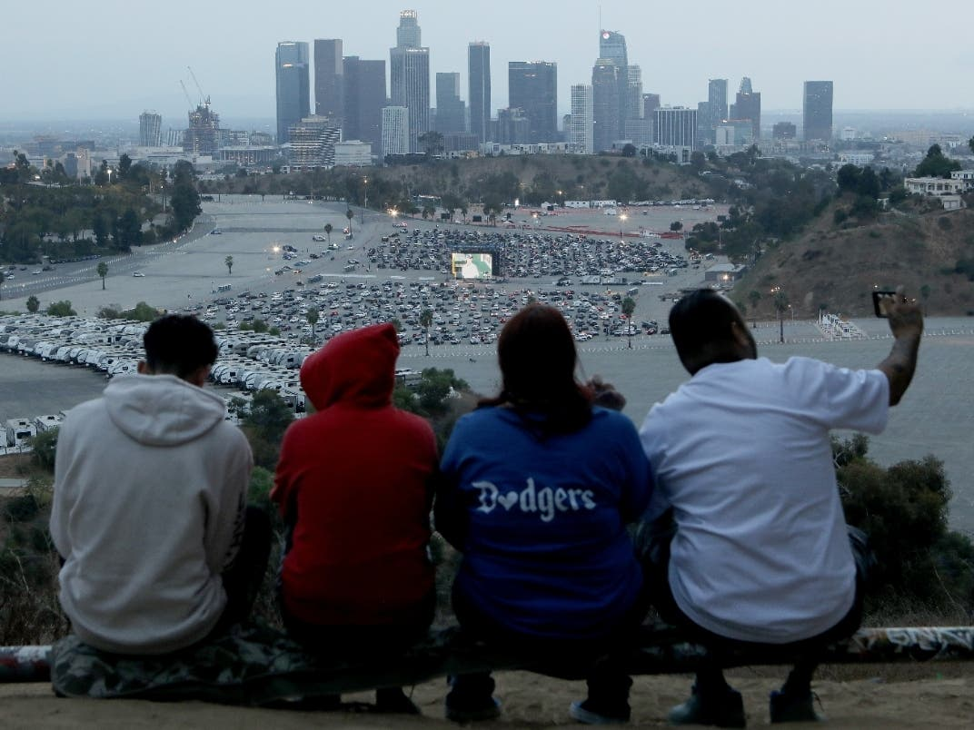 As New Coronavirus Cases Spike Dodgers Fans Urged Not To Gather Los Angeles Ca Patch