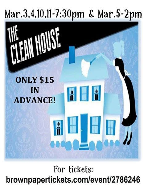 The Clean House' Opens at The Arts at Angeloria's | Naugatuck, CT Patch