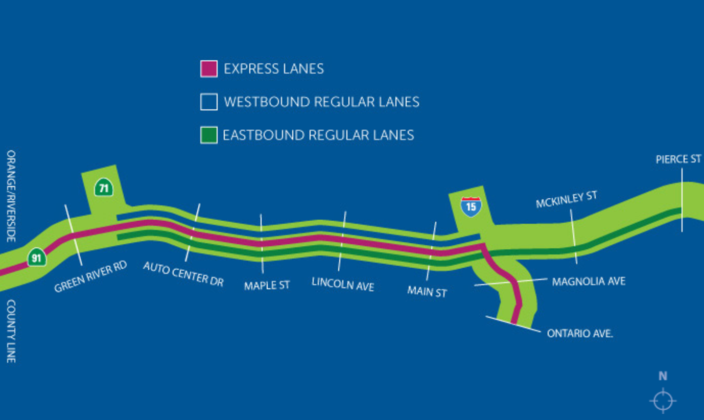 Finally! 91 Express Lanes Opening Monday: Here's All You