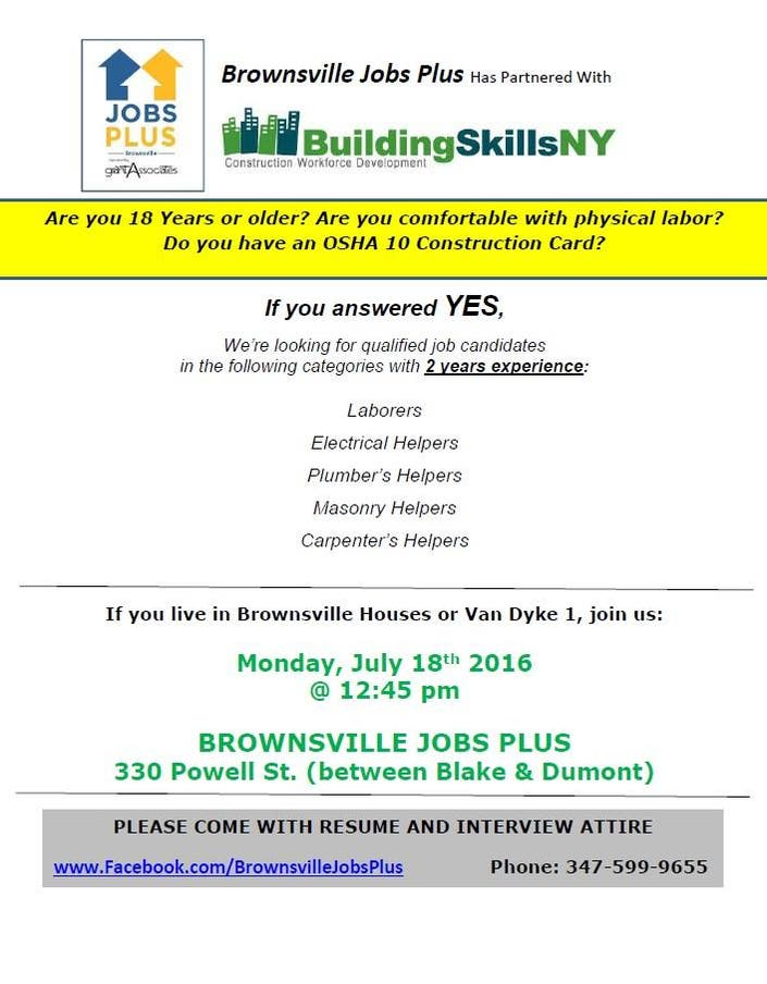 2 Brownsville Job Fairs Planned For July