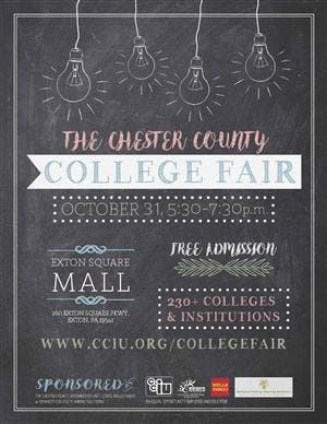 exton square mall college fair draws hundreds of schools malvern pa patch patch