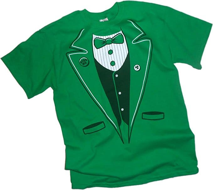 041de956a Irish Tuxedo — St. Patrick's Day Adult T-Shirt, $18.95—20.95. Nothing says