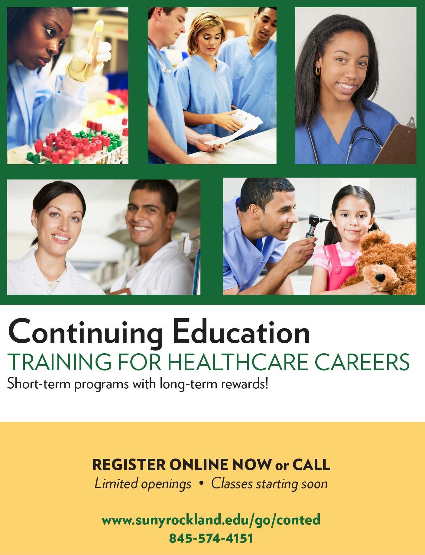 Rockland Community College To Offer Fast Track Healthcare Courses