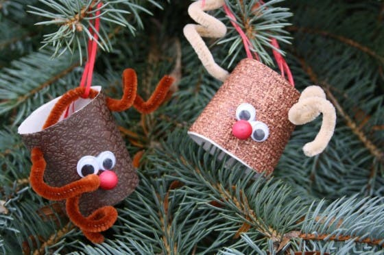 80 Personalized Christmas Ornaments Anyone Can Craft