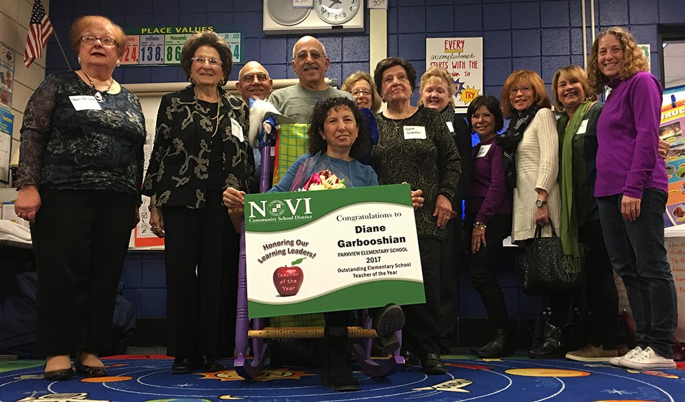 Novi Schools Honor 'Teachers of the Year'   Novi, MI Patch