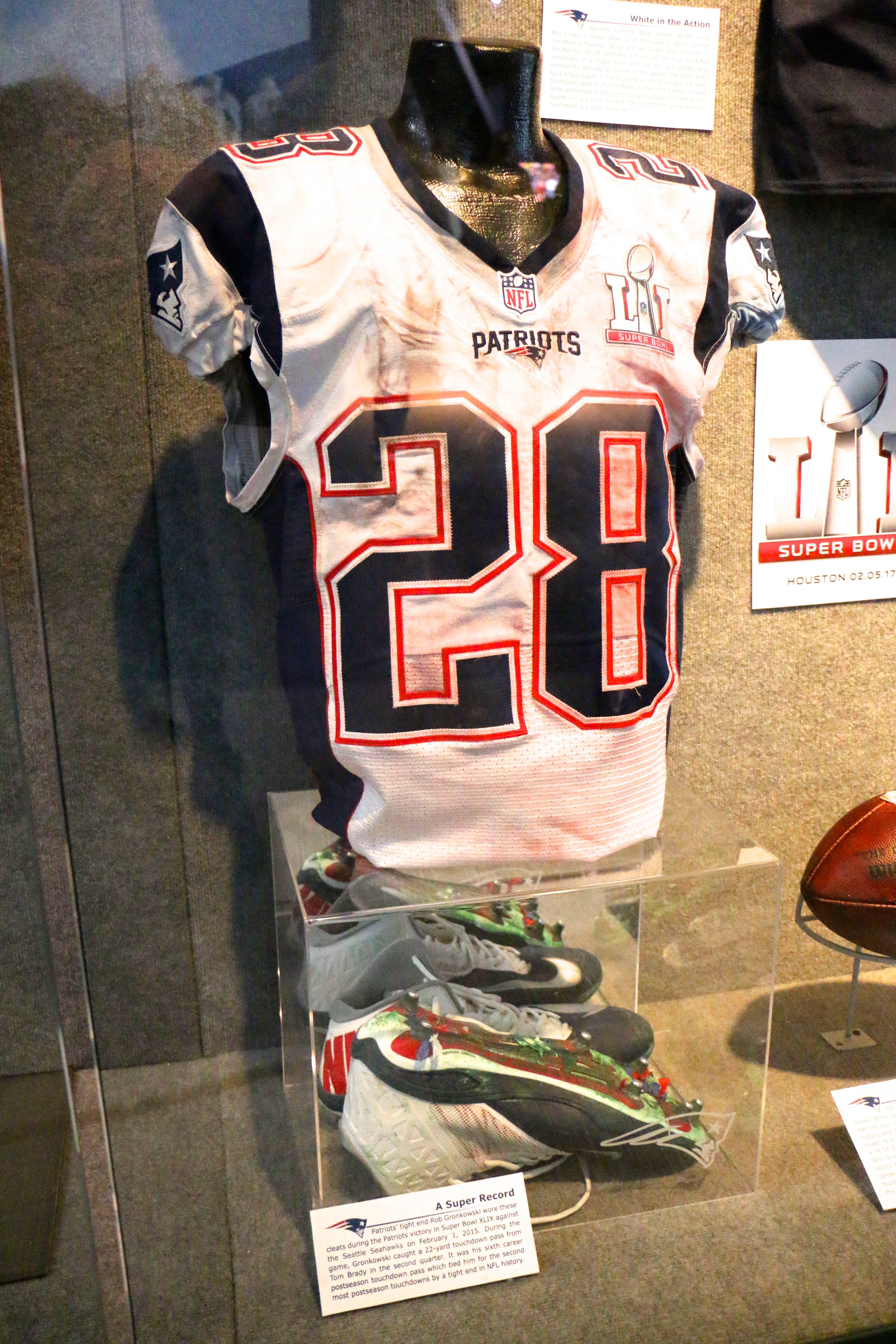 Game Used Artifacts from Super Bowl LI On Display at the Hall ...
