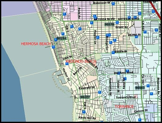 33 Sex Offenders In Redondo Beach 2016 Halloween Registry Map