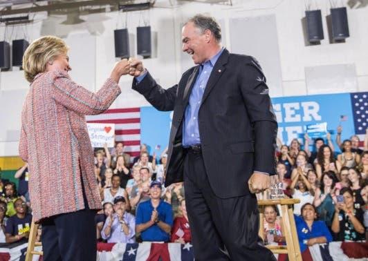 Miami: Hillary Clinton Introduces Sen. Tim Kaine As Her