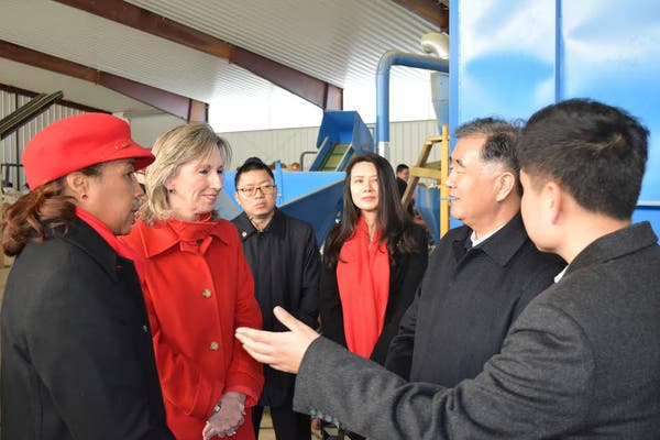 High Ranking Chinese Officials Tour Loudoun Ashburn Va Patch
