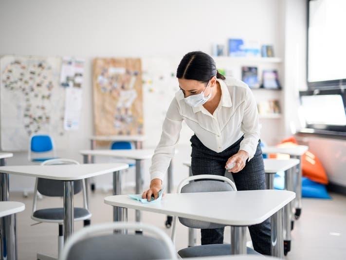 Coronavirus Cases Among Students, Staff Drop In CT