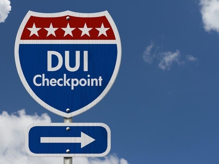 DWI Checkpoint In Shrewsbury Friday Night, Oct. 11