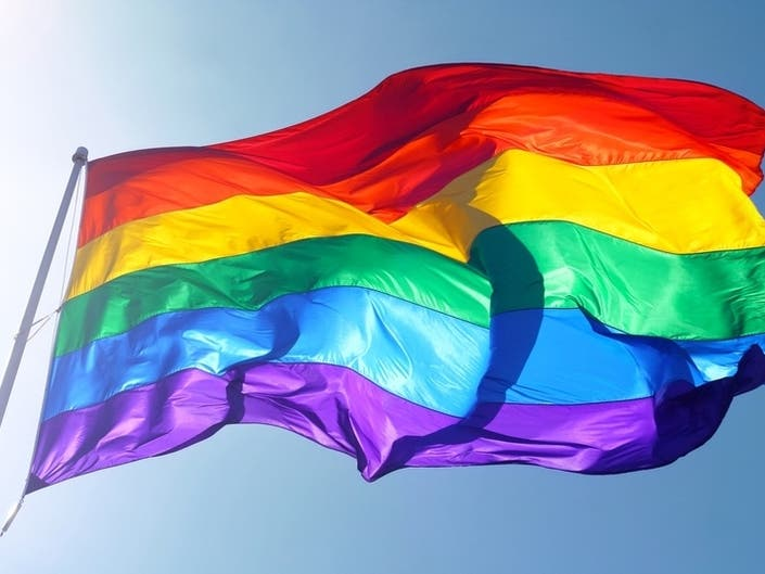 History Made As Rainbow Pride Flag Raised Over State Capitol