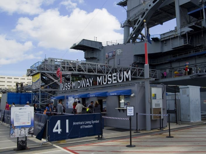 USS Midway To Offer 2004-Level Admission Prices In September