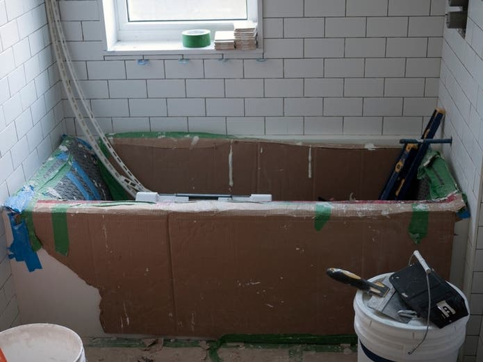 Be sure to take these five steps before contacting a professional bathroom remodeler.