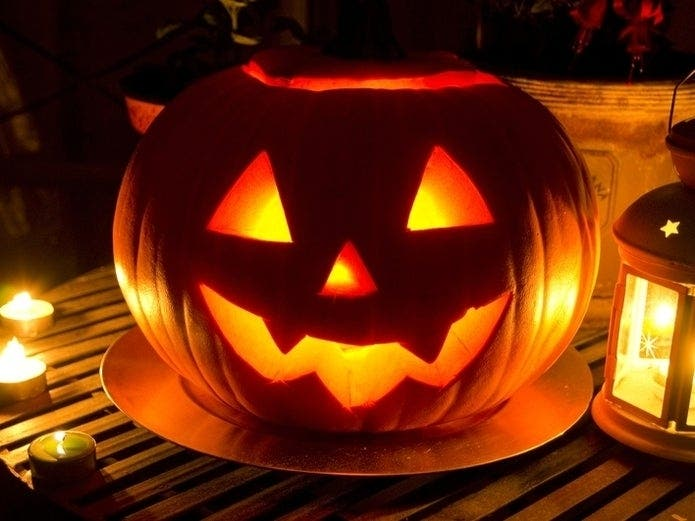 Patriot Place Holding Pumpkin Carving Contest