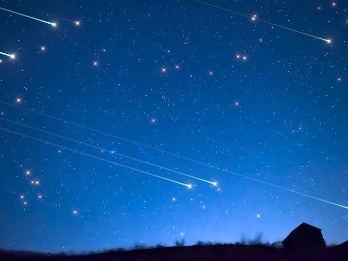 Orionid Meteor Showers Peak: When To Watch in Orange County