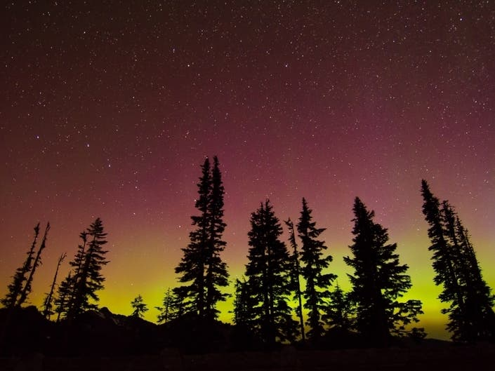 Northern Lights Could Be Visible In Washington Overnight