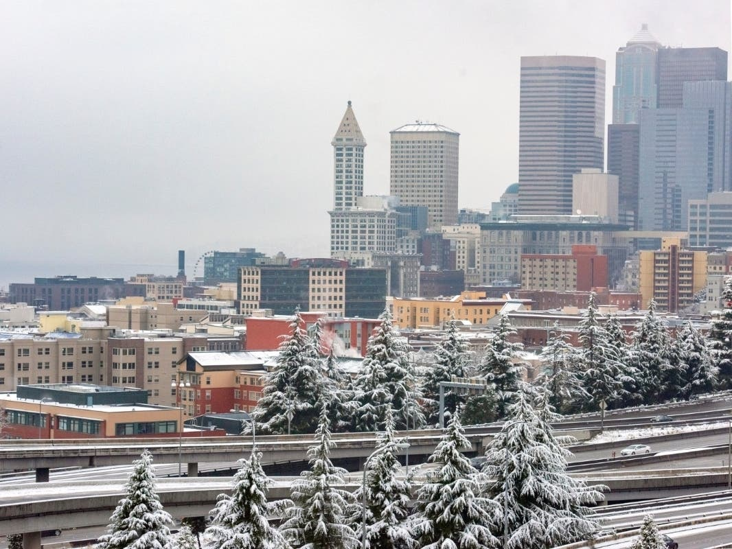 WA Snow Forecast: 2 Systems Bring Chances For Lowland Flurries