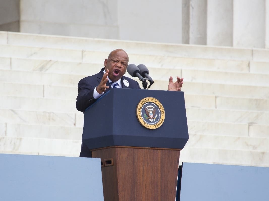 John Lewis Calls On Atlantans To Protest Peacefully, No 'Burning'