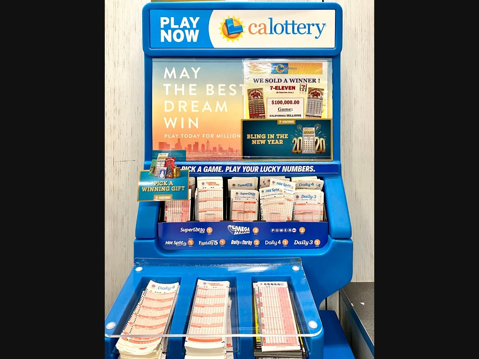 2 3m Mega Millions Ticket Bought At Contra Costa Gas Station Concord Ca Patch