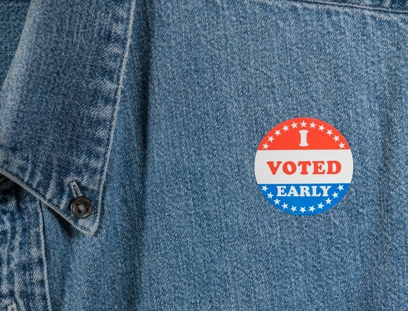 Record Number Of Kendall Co. Residents Are Voting Early