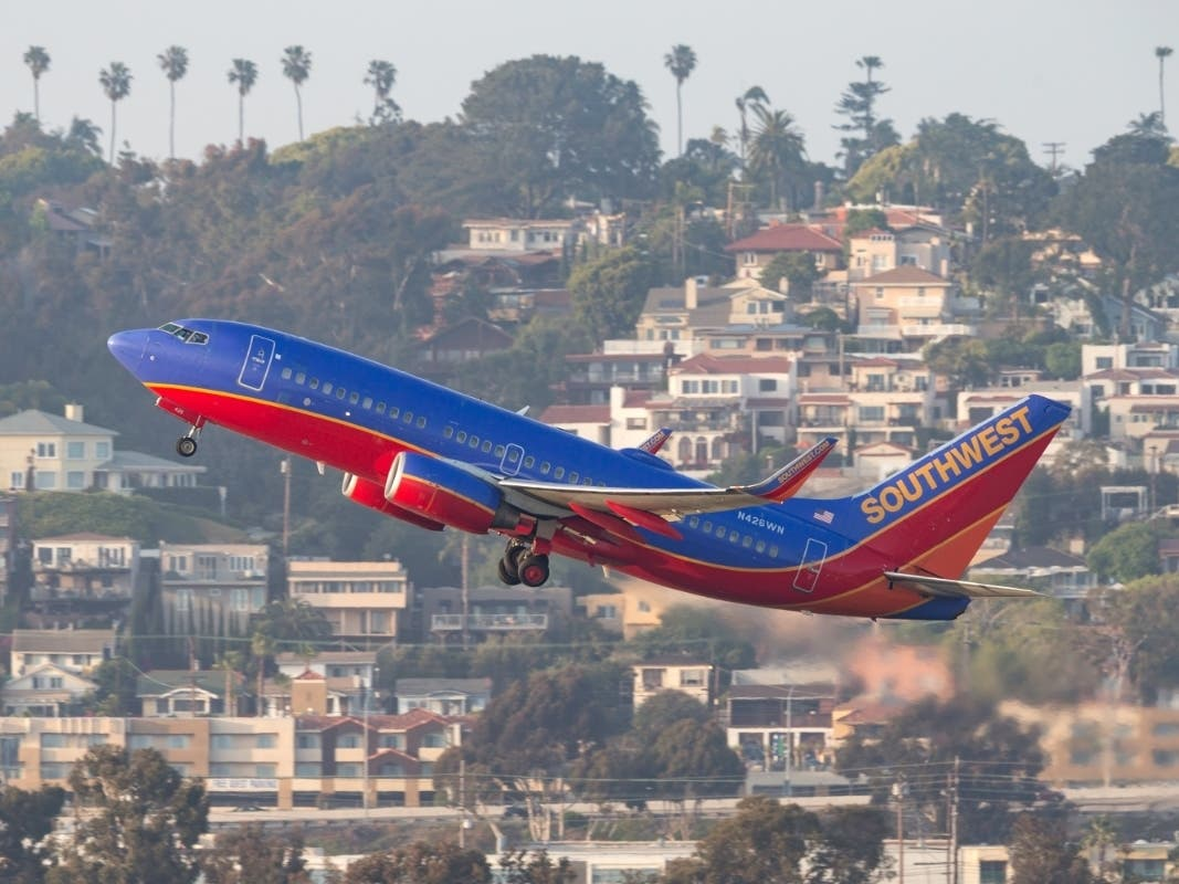 Southwest Airlines Offers Cheap Flights From San Diego