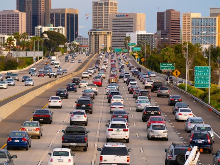 Worst CA Cities To Drive In: Report