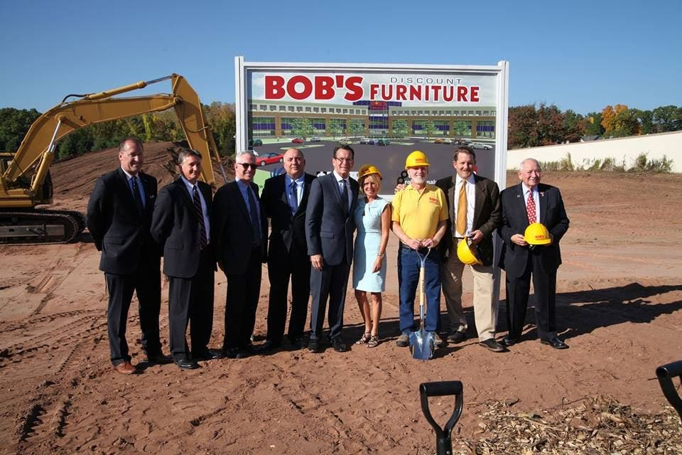 Ground Broken For Bigger Bob S Discount Furniture Hq In Manchester