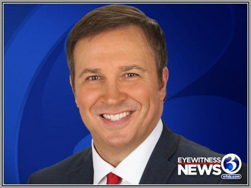 Dennis House Leaving 11 O'Clock News At WFSB   Manchester, CT Patch