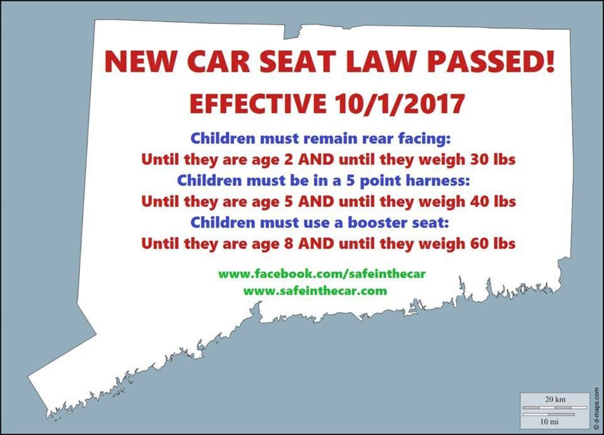 New Car Seat Laws Part Of Back To