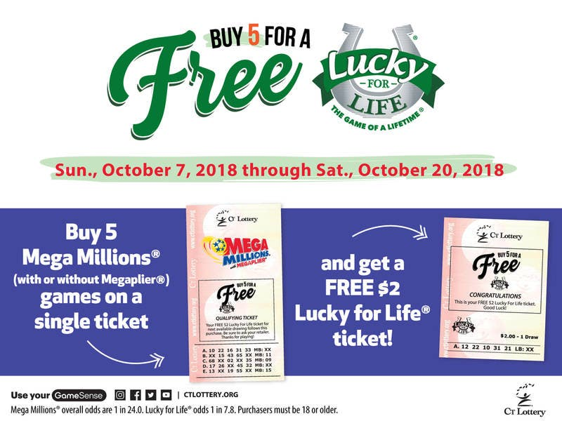 CT Lottery Officials Announce Another Free Ticket Promotion