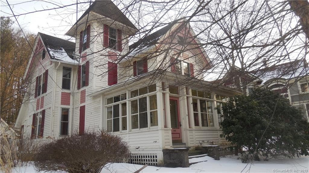 Hilltop Victorian Hits The Market In Stafford   Stafford, CT