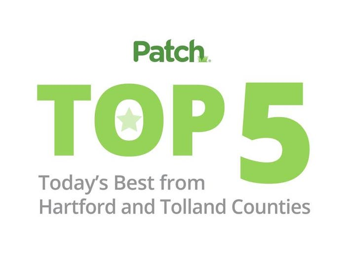 The Top Stories To End The Week In Hartford and Tolland Counties